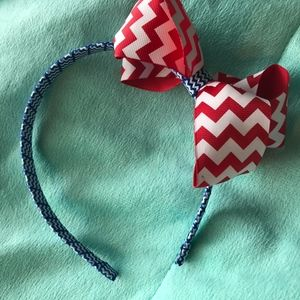 Other - Girls red, white and blue headband